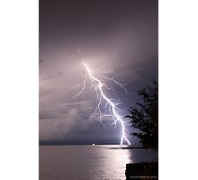 Darwin Lightning 2011 Photographic Print