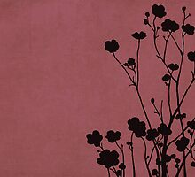 Buttercups in Pink & Gray by Elle Campbell