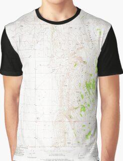 USGS Topo Map Oregon Mahon Creek 280625 1973 24000 Graphic T-Shirt