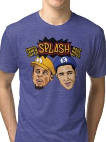Super Splash Bros Tri-blend T-Shirt