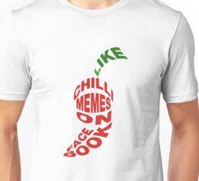 """Chilli Memes """"Word Pepper"""" Unisex T-Shirt"""