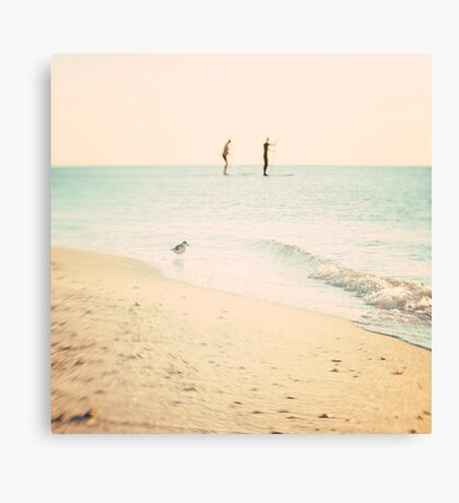 it's so simple. Canvas Print