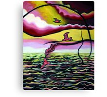 Marine Synchronicity Canvas Print