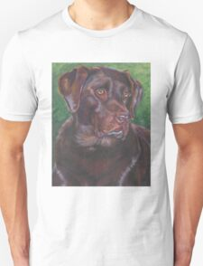 Labrador Retriever Fine Art Painting Unisex T-Shirt