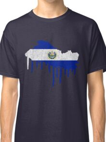 El Salvador Paint Drip Classic T-Shirt
