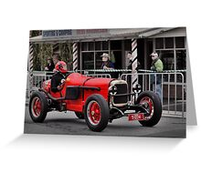 Alvis 1250 s/c 1926 Greeting Card