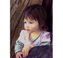 Little child portrait Photographic Print