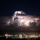 Spectacular Lightning Storm #1, Port Lincoln, South Australia by Ben Scholz