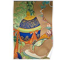 tibetan art. india Poster