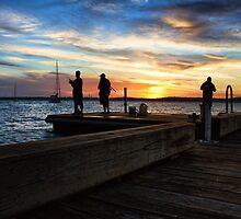 Murray's Sunset by Tam  Locke