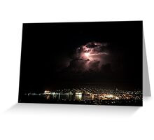 Spectacular Lightning Storm #2 - Port Lincoln, South Australia Greeting Card