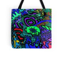 CRUX alternate colour - psychedelic artwork Tote Bag