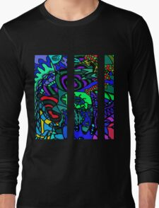 CRUX alternate colour - psychedelic artwork Long Sleeve T-Shirt