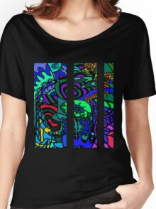 CRUX alternate colour - psychedelic artwork Women's Relaxed Fit T-Shirt
