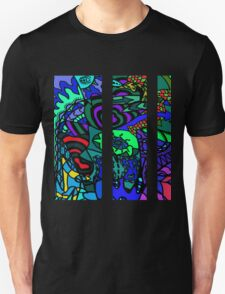 CRUX alternate colour - psychedelic artwork T-Shirt