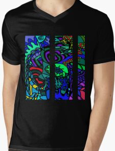 CRUX alternate colour - psychedelic artwork Mens V-Neck T-Shirt