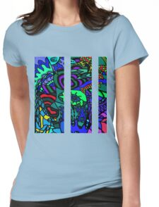 CRUX alternate colour - psychedelic artwork Womens Fitted T-Shirt