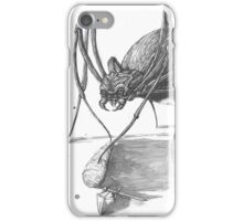 The Adventurer meets a Giant Spider iPhone Case/Skin