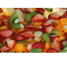 Fruit Salad Time! Photographic Print