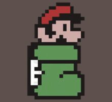 Mario in the Kuribo Shoe - No Text by Ryan Wilson
