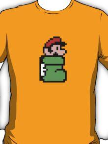 Mario in the Kuribo Shoe - No Text T-Shirt