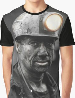 Hard Day Down The Mine Graphic T-Shirt