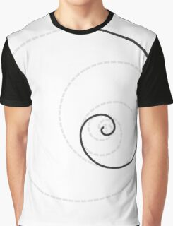 Golden Ratio Spiral - Construction Circles Graphic T-Shirt