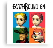 MOTHER 3 / EarthBound 64 Tiles (EarthBound 64 Logo) Metal Print