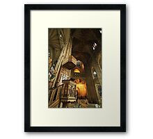 Canterbury Cathedral Pulpit Framed Print