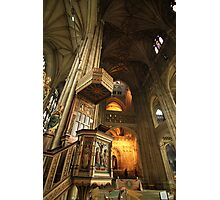 Canterbury Cathedral Pulpit Photographic Print