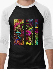 CRUX - Psychedelic artwork Men's Baseball ¾ T-Shirt
