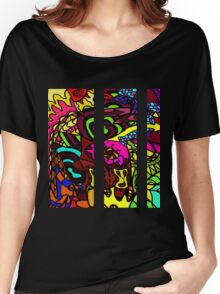 CRUX - Psychedelic artwork Women's Relaxed Fit T-Shirt