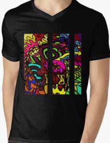 CRUX - Psychedelic artwork Mens V-Neck T-Shirt