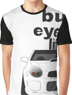 Subaru Bug Eyed life Graphic T-Shirt