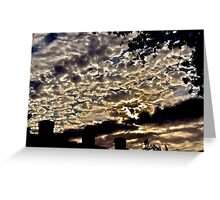 Sky Over My Apartment Greeting Card