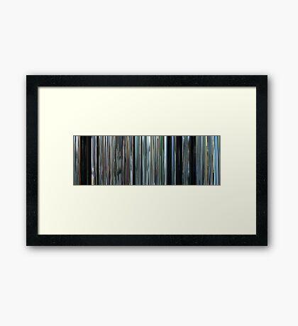 Moviebarcode: The Isle / Seom (2000) Framed Print