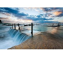 Avalon Ocean Bath Sunrise Photographic Print