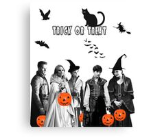 Once Upon a Halloween Canvas Print