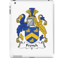 French Coat of Arms / French Family Crest iPad Case/Skin