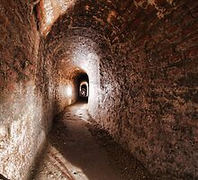 Tunnels of the Citadel, Torino, Italy by Guy Carpenter