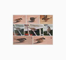 BROWN SPARROW COLLAGE  Unisex T-Shirt