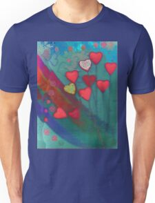 Hearts in the wind Unisex T-Shirt