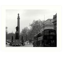 a whitehall morning Art Print