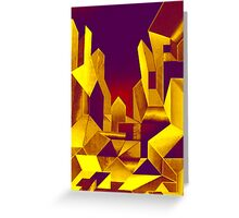 Gilded City  Greeting Card