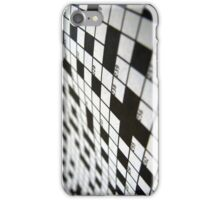 Crossword iPhone Case/Skin