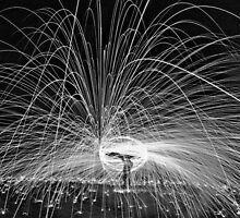 HDR B&W SPINNING by yampy
