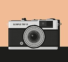 Olympus Trip 35 by cubhaus