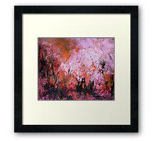 Burning Bush 1 Framed Print