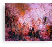 Burning Bush 1 Canvas Print