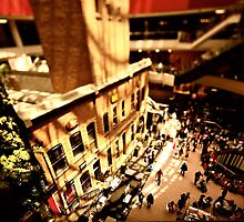 Looking down the centre of Melbourne by agedog